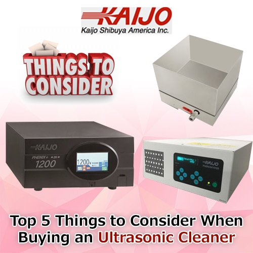 Top 5 Things to Consider For Buying the Best Ultrasonic Cleaner